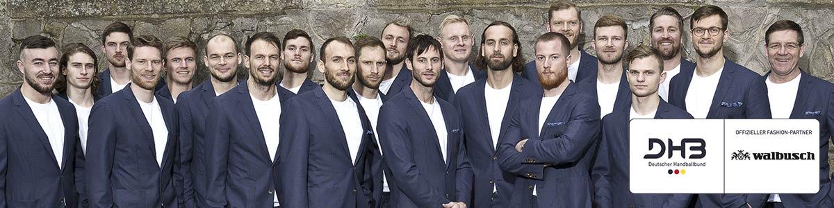 Handball-Stars des DHB im Walbusch Outfit | Walbusch
