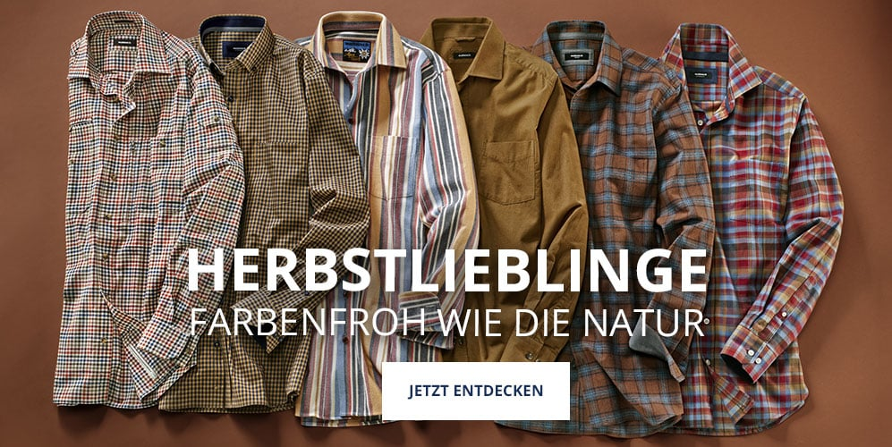 Hemden in Herbstfarben   Walbusch