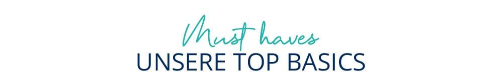 Unsere Top Basics | Walbusch