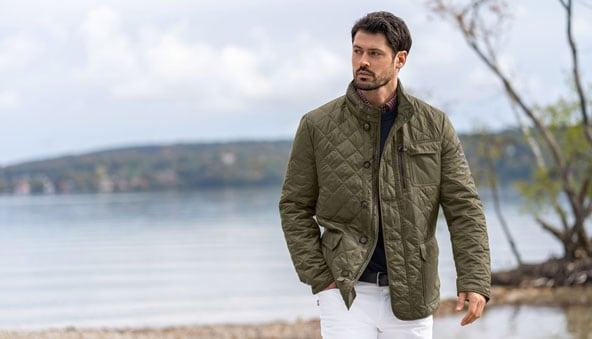 Die Steppjacke: ein Klassiker der Herren-Mode   Walbusch