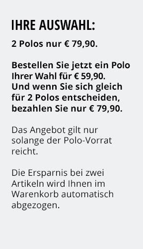 Jetzt testen: 2 Thermo-Polos nur € 79,90 | Walbusch