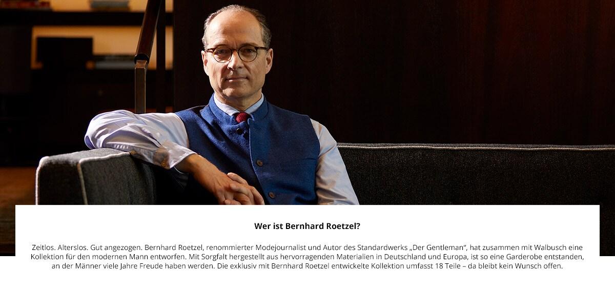 Künstler Bernhard Roetzel   Walbusch
