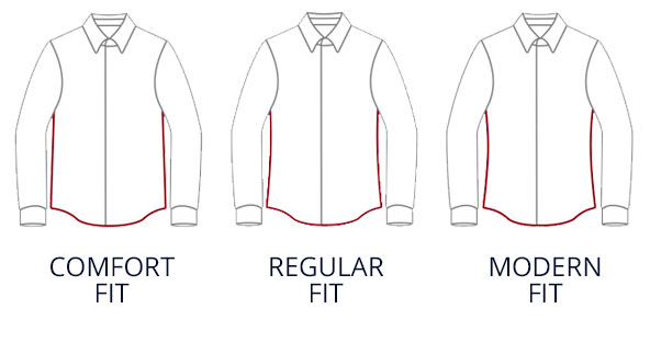 Herrenhemden mit verschiedenen Passformen | Walbusch