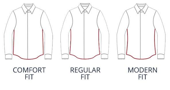 Hemden in verschiedenen Passformen | Walbusch