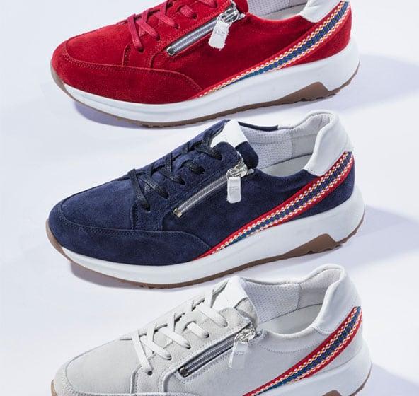 Damen-Sneaker aus hochwertigen Materialien | Walbusch