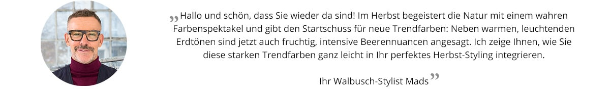Trendfarben   Walbusch