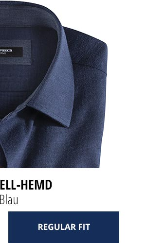 2 Softflanell-Hemden für nur € 69,90: Uni Blau | Walbusch