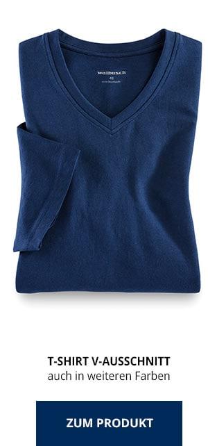 T-Shirt V-Ausschnitt | Walbusch