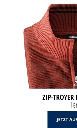 Zip-Troyer Herbstlaub - Terra   Walbusch