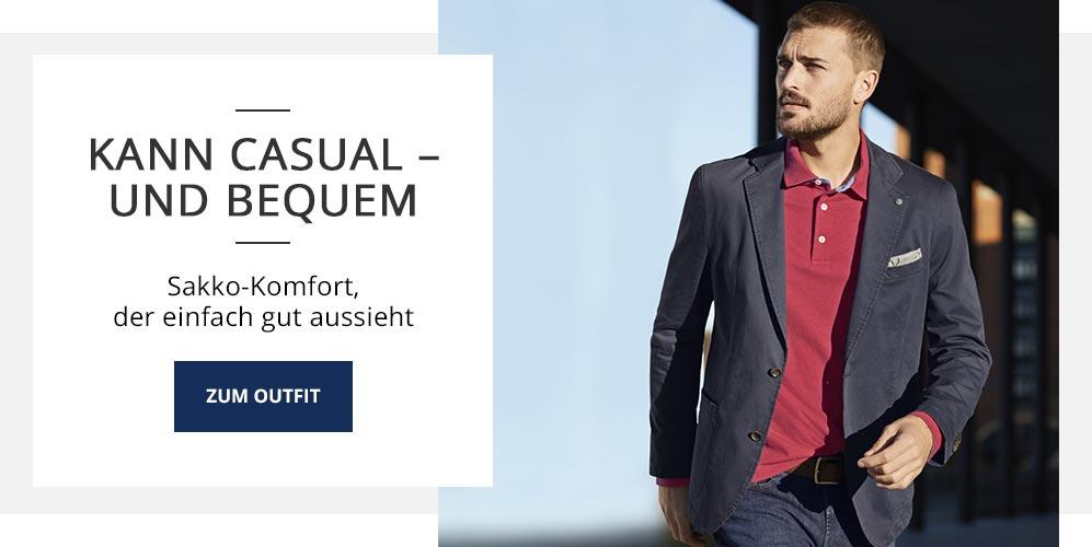 Outfit Kann casual und bequem | Walbusch