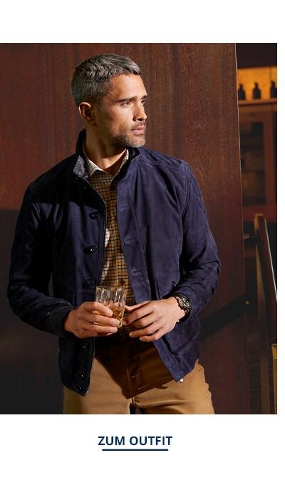 Outfit Ziegenvelours-Lumber   Walbusch