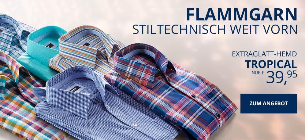 Aktionsangebot Tropical Hemden für € 39,95 | Walbusch