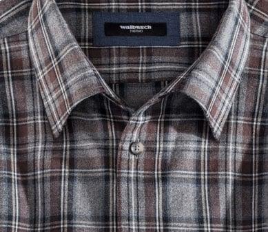 Flanellhemd: Akzente setzen mit dem passenden Kragen | Walbusch