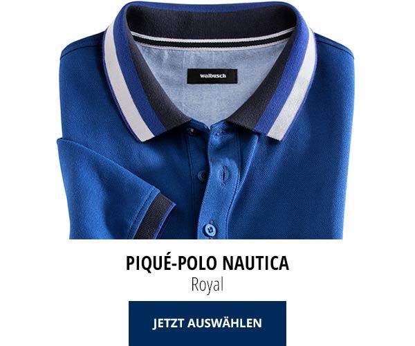 Piqué-Polo Nautica Royal   Walbusch