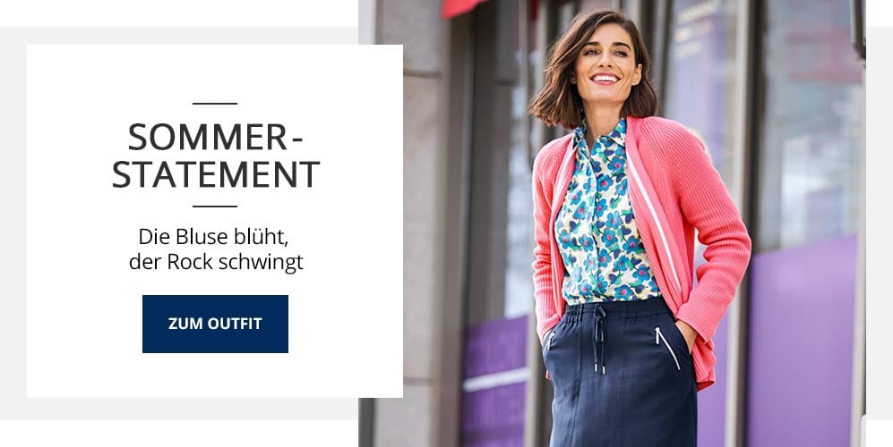 Outfit Sommer-Statement