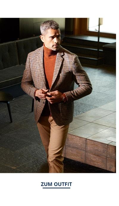 Outfit Roetzels-Harris-Tweed-Sakko   Walbusch