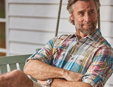 Karierte Hemden aus hochwertige Materialien | Walbusch