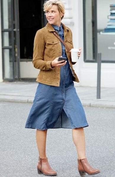 Smarte Kombinationen, die Ihr Kleid modisch in Szene setzen | Walbusch