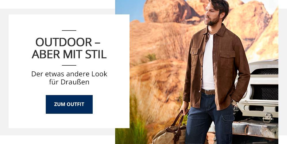 Outfit Outdoor aber mit Stil | Walbusch