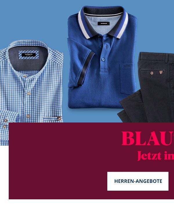 Mode in Blautönen Herr   Walbusch