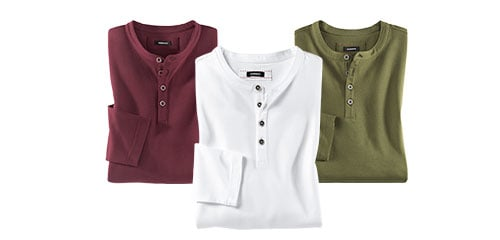 Henley-Shirts | Walbusch