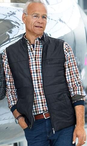 Lederwesten: optimal zum Freizeit-Outfit | Walbusch