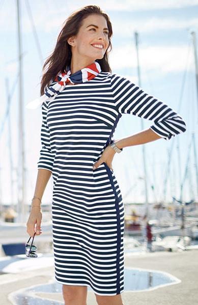 Unserer Kleider: feminin tailliert oder A-Linien-förmig | Walbusch