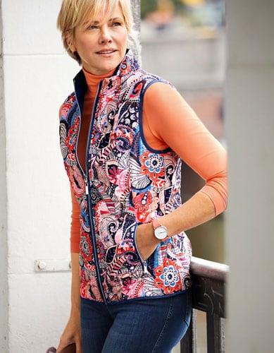Kreieren sie Ihren eigenen Look mit einer Steppweste für Damen   Walbusch