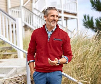 Unifarbene Troyer für Herren in vielen Designs   Walbusch