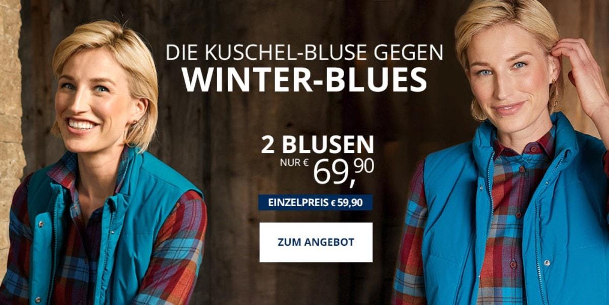Angebot: 2 Flanellblusen | Walbusch