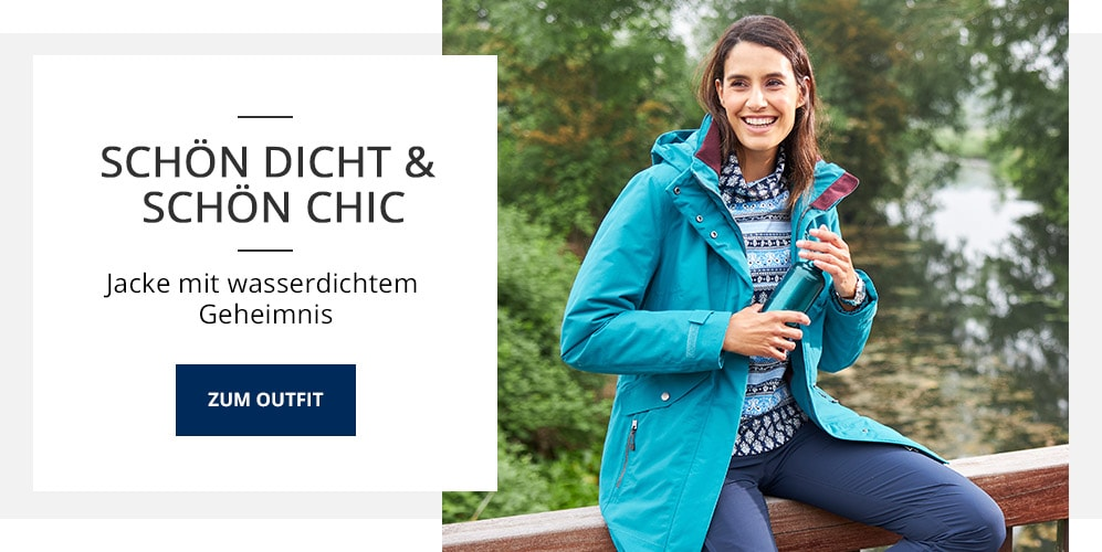 Outfit Schön dicht & schön chic | Walbusch
