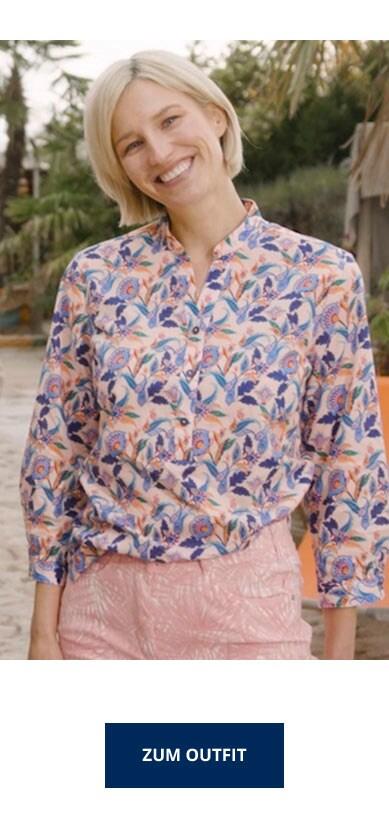 Blumenmuster Outfit | Walbusch