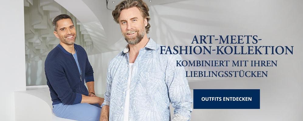 Art meets Fashion-Kollektion Herren   Walbusch