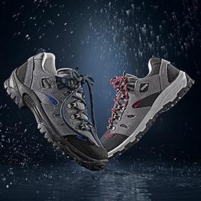 Wasserdichte Schuhe