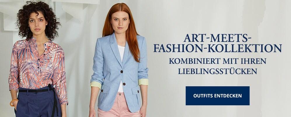 Art meets Fashion-Kollektion Damen   Walbusch