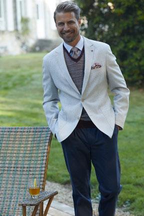 Elegantes Outfit mit einem Freizeit-Sakko   Walbusch