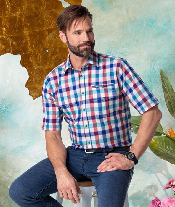 Das karierte Hemden gekonnt in Szene gesetzt | Walbusch