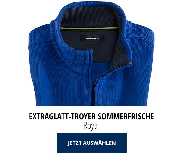 Extraglatt-Troyer Sommerfrische Royal | Walbusch