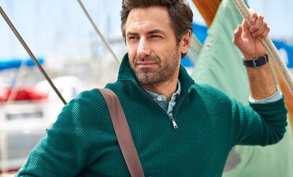Pullover mit Charakter: Troyer für Herren   Walbusch