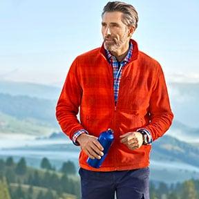 Fleece-Jacken: zuverlässige Wärme | Walbusch