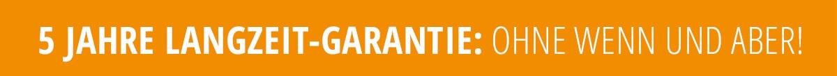 5 Jahre Langzeit-Garantie | Walbusch