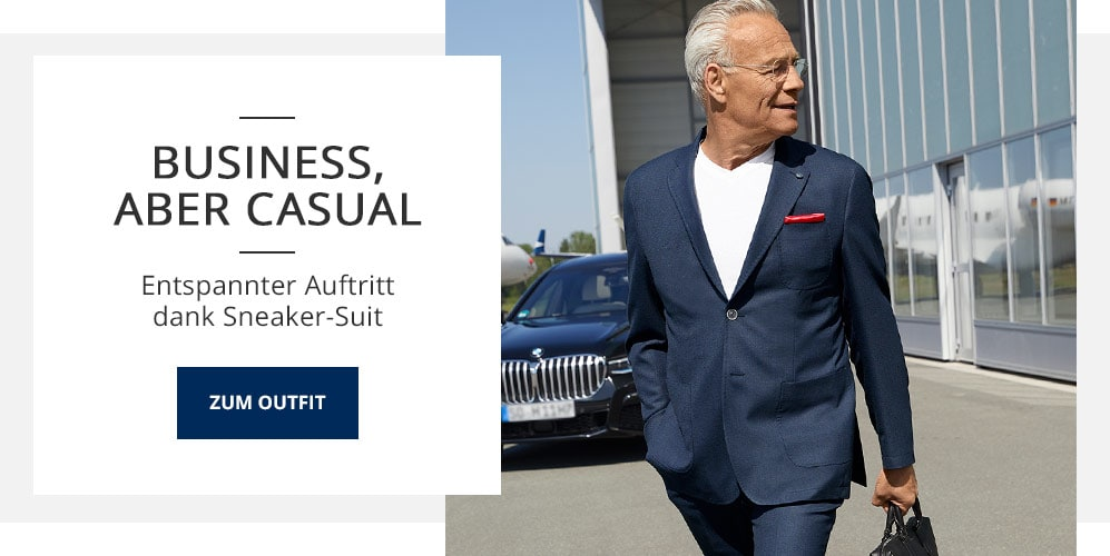 Outfit Business, aber casual | Walbusch