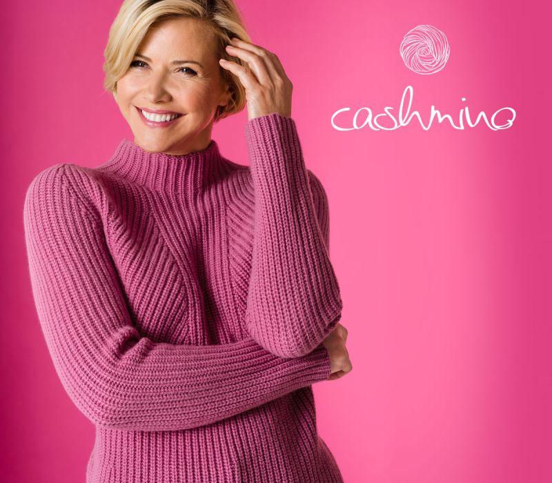 Cashmino-Pullover Nahtlos