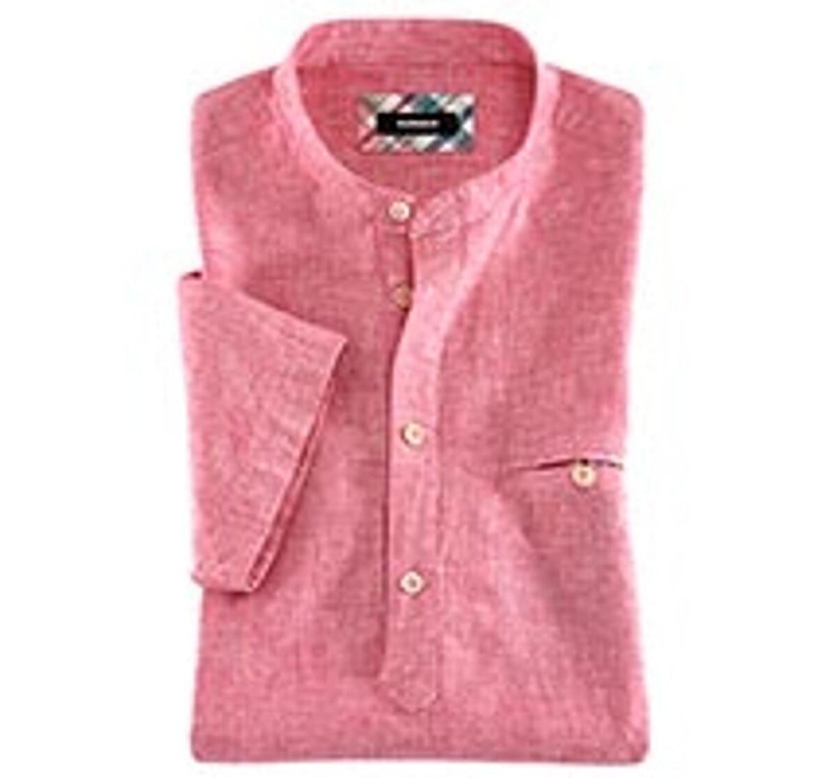 Stehkragen-Hemden
