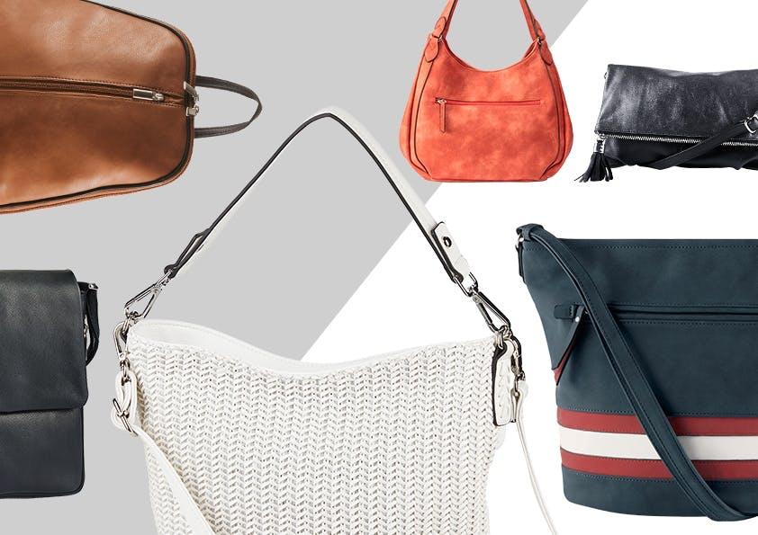Verschiedene Handtaschen-Modelle
