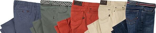 Unterschiedliche Hosenarten und Materialien | Walbusch