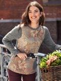 Pullover-Shirt Herbstlaune