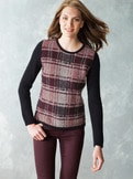 Karo Leicht-Pullover