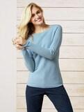 Leicht-Pullover Honeycomb