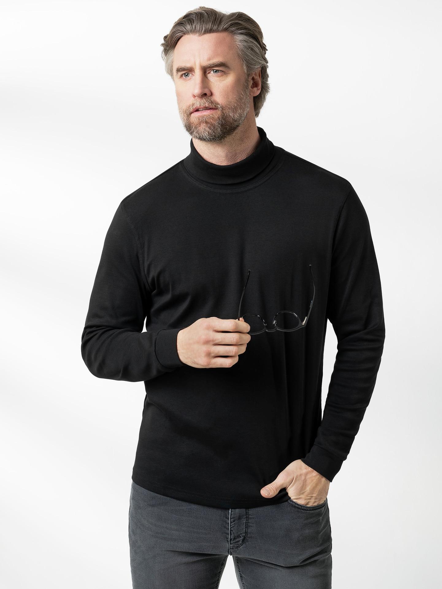 Rollkragen-Shirt Herr im Online-Shop bequem kaufen   Walbusch 8f57a1d62b